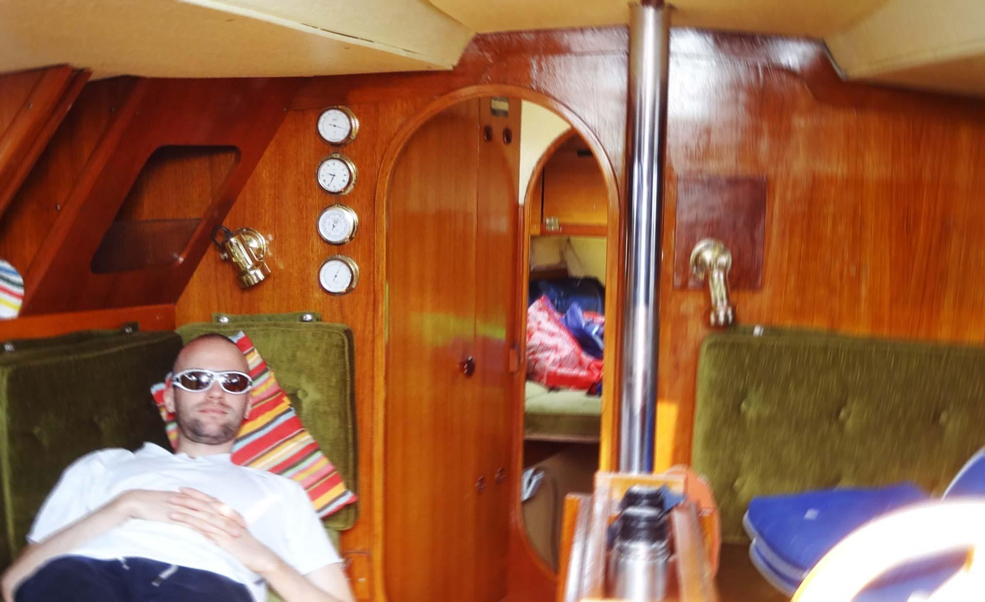 Every yacht needs classic brazen marine instruments.