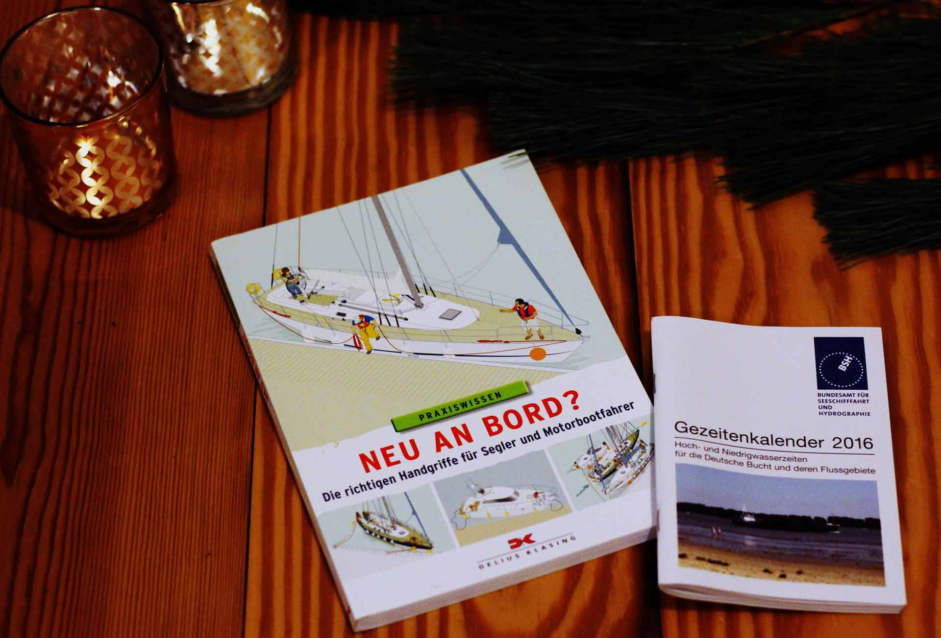 Sailing books for newbies and both cracks: A perfect present for christmas.