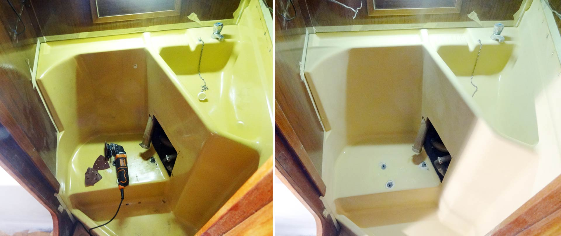 Small but nice: The KIng´s Cruiser 33 Lavatory