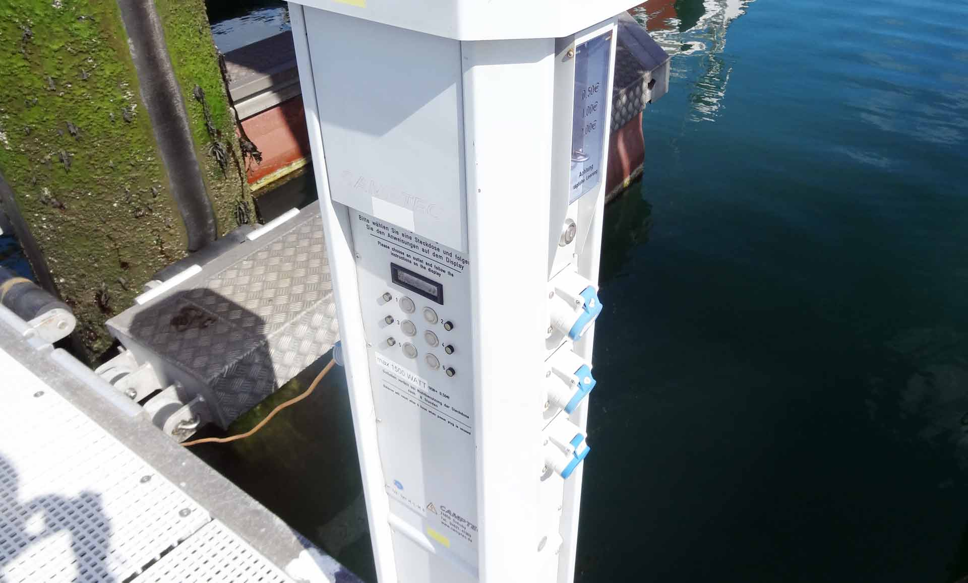 Paying for Energy with Coins directly on the Pier