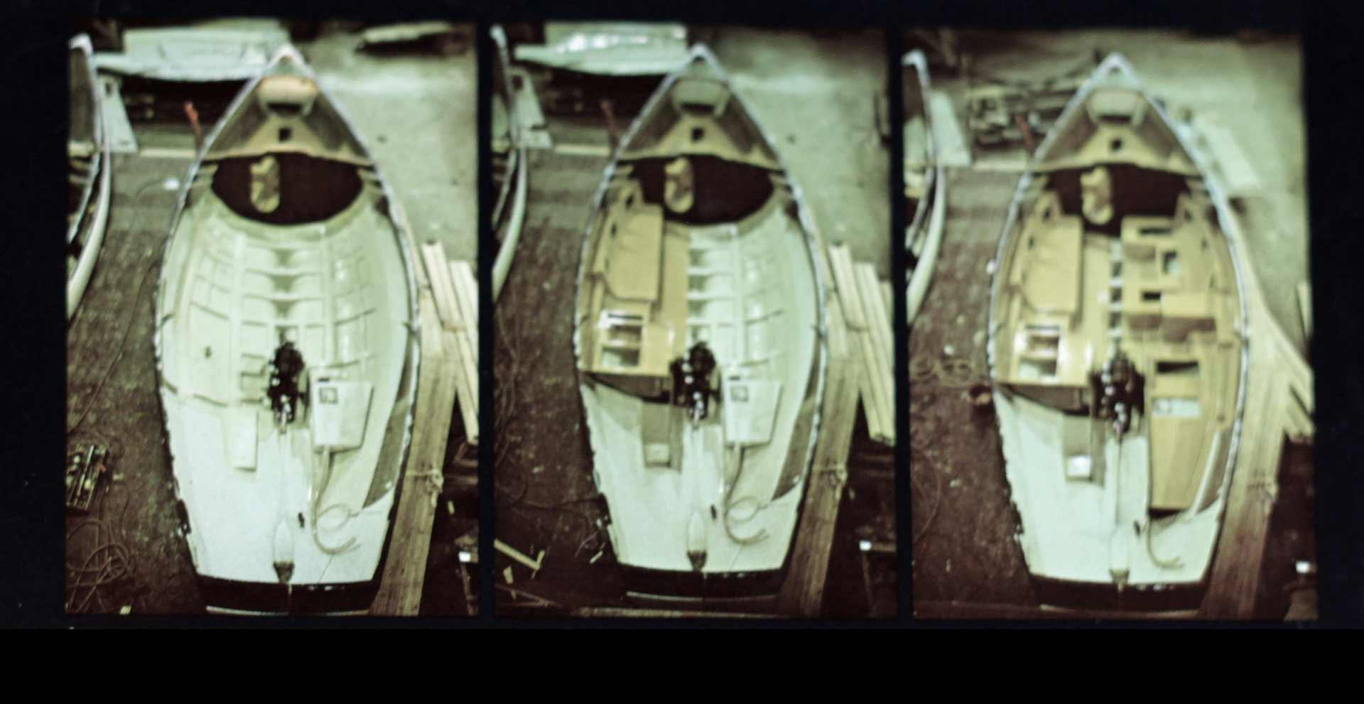 Outer and Inner Shels of the Kingscruiser 33 Hull
