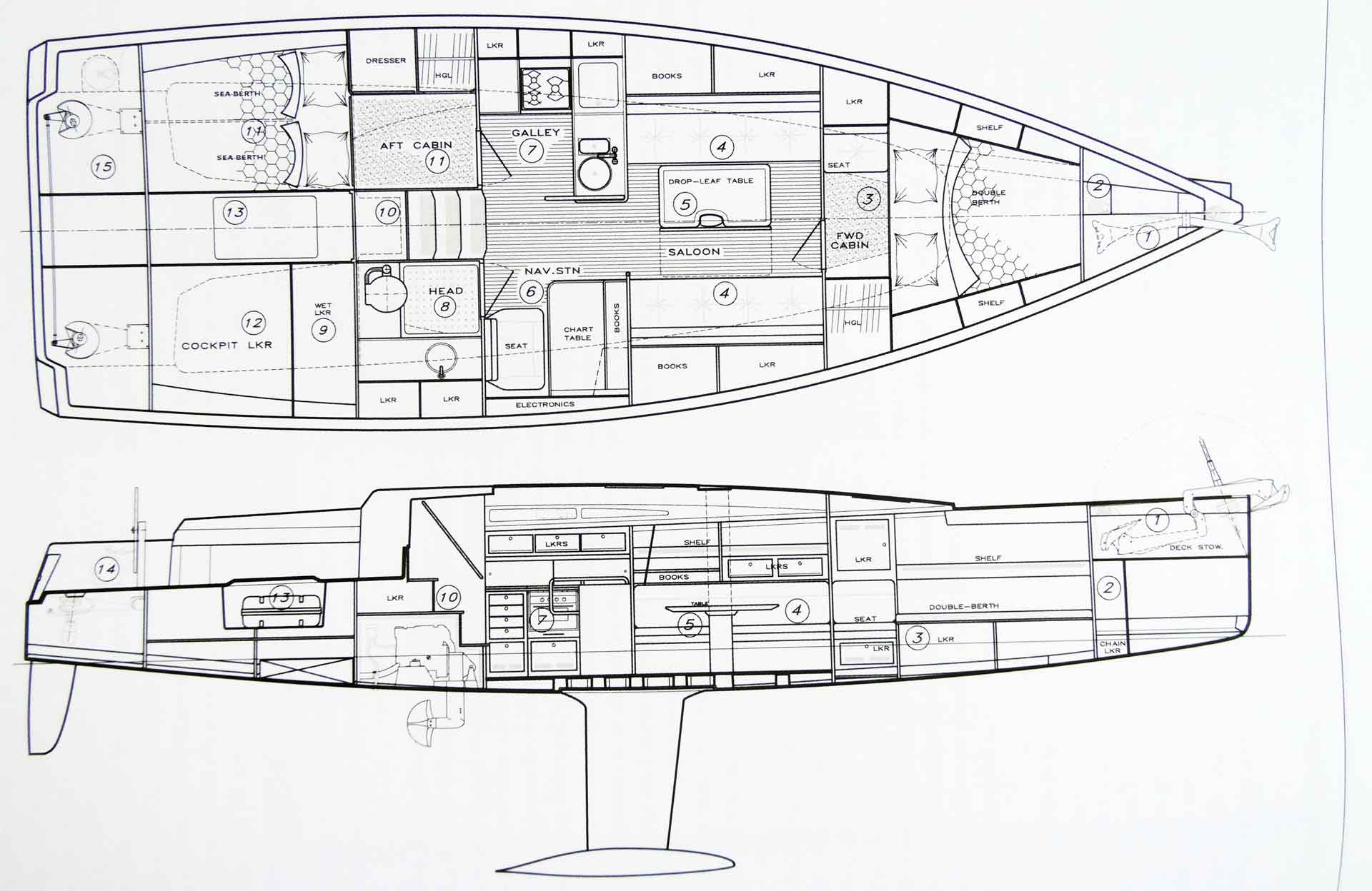 The whole book explains all figures and formulae on the basis of the YA-41 sailing yacht