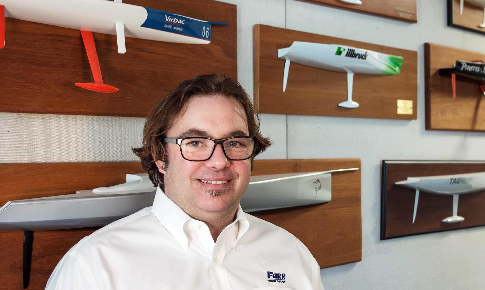 Britton Ward of Farr Yacht Design