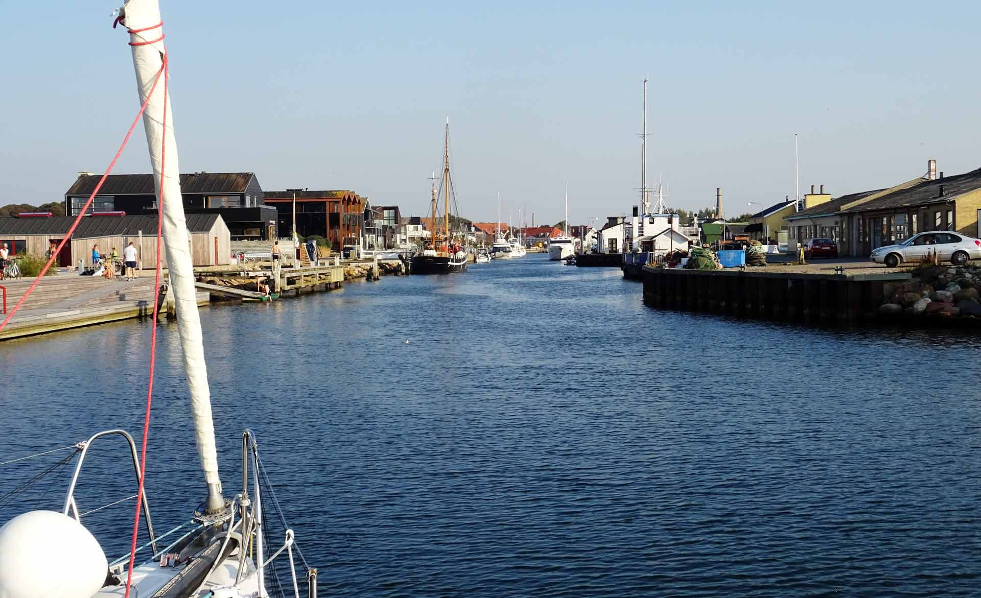 Bogense Harbor, too crowded