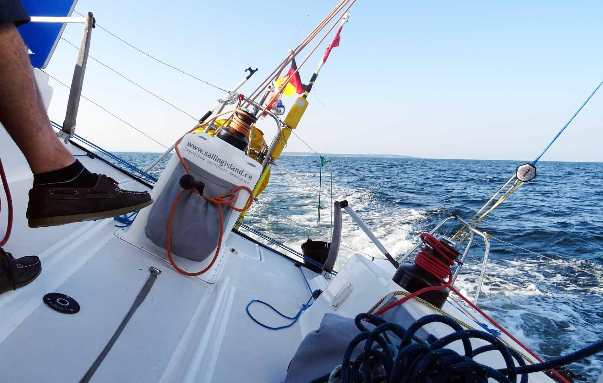 Pogo sailing action!