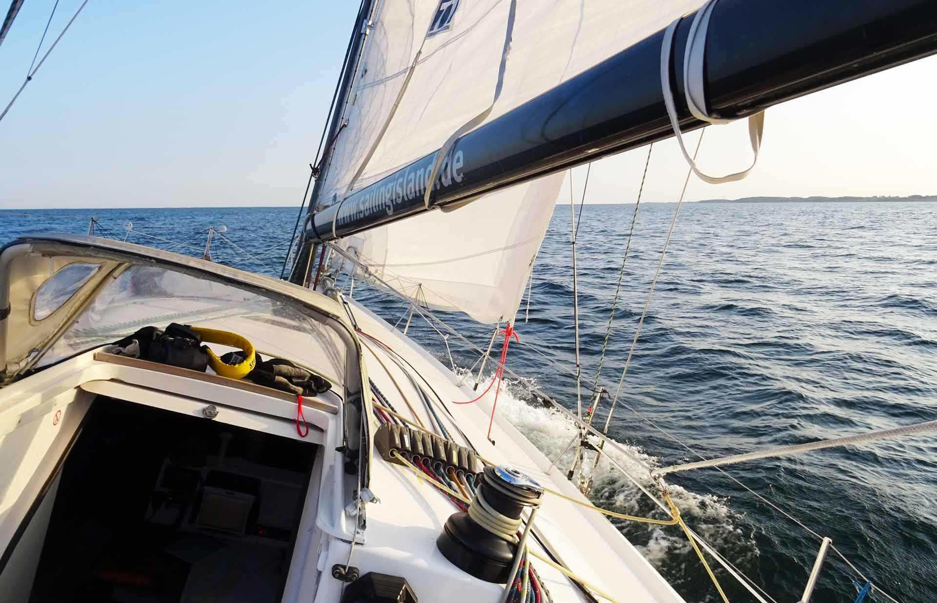 That´s so nice to sail again