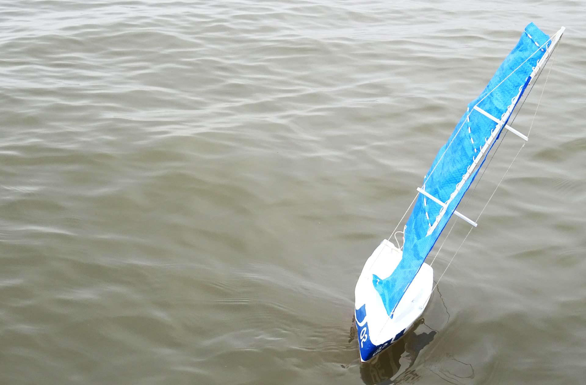 Sails aback!