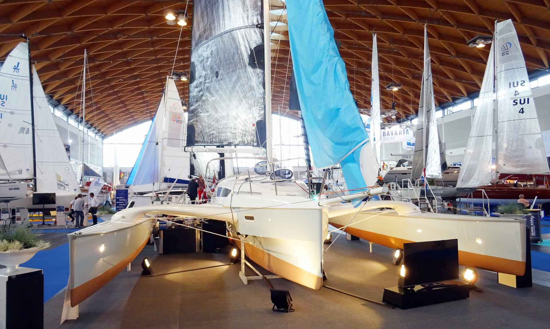 Made to sail fast: The Dragonfly 25 trimaran