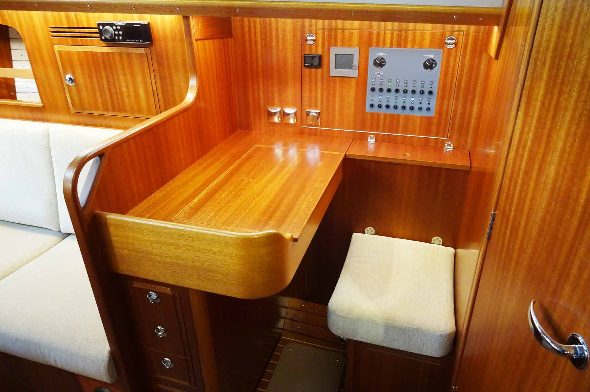 The best navigation station I´ve seen on the whole boat show so far