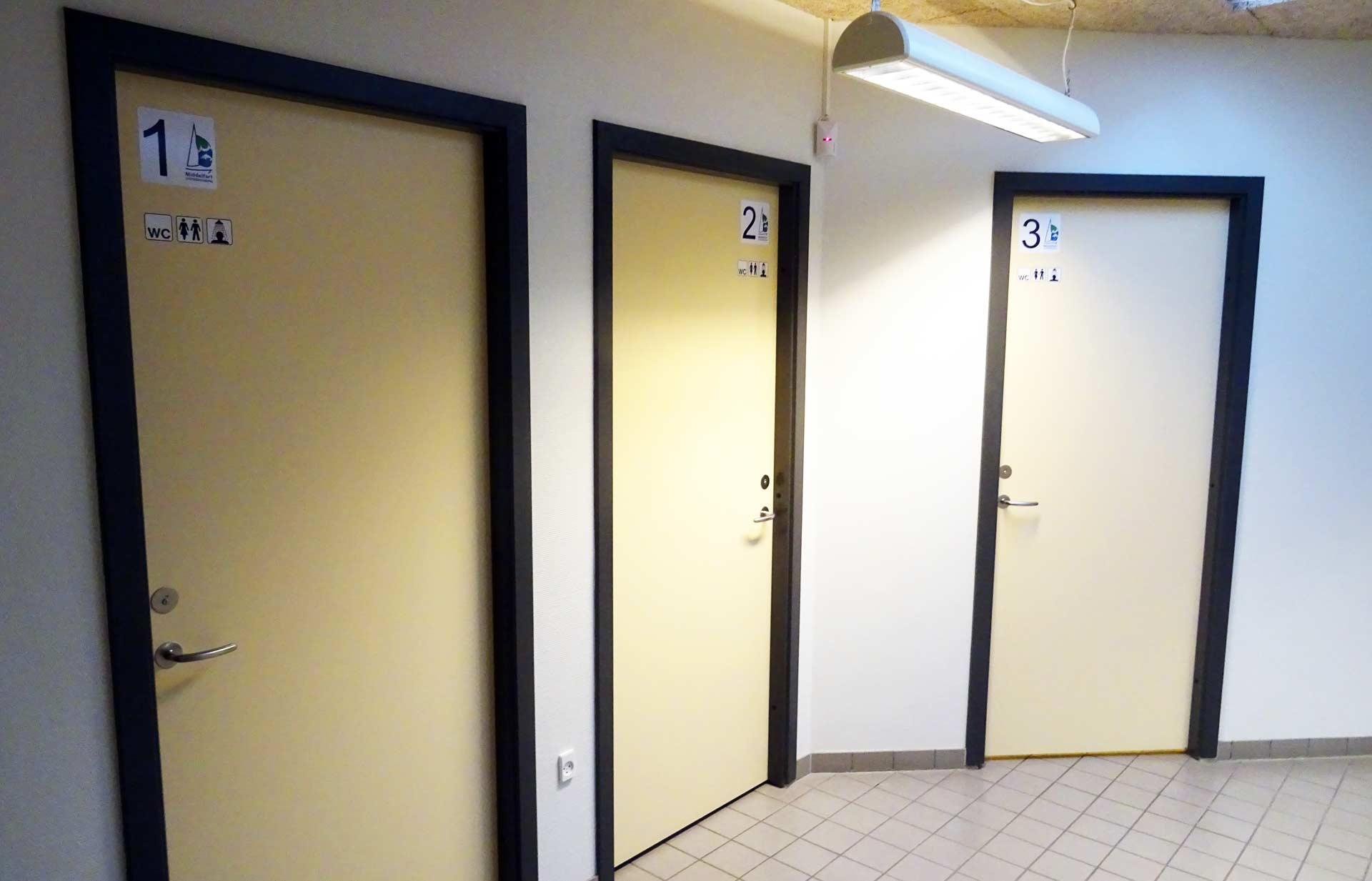 Privacy in the bathroom facilities