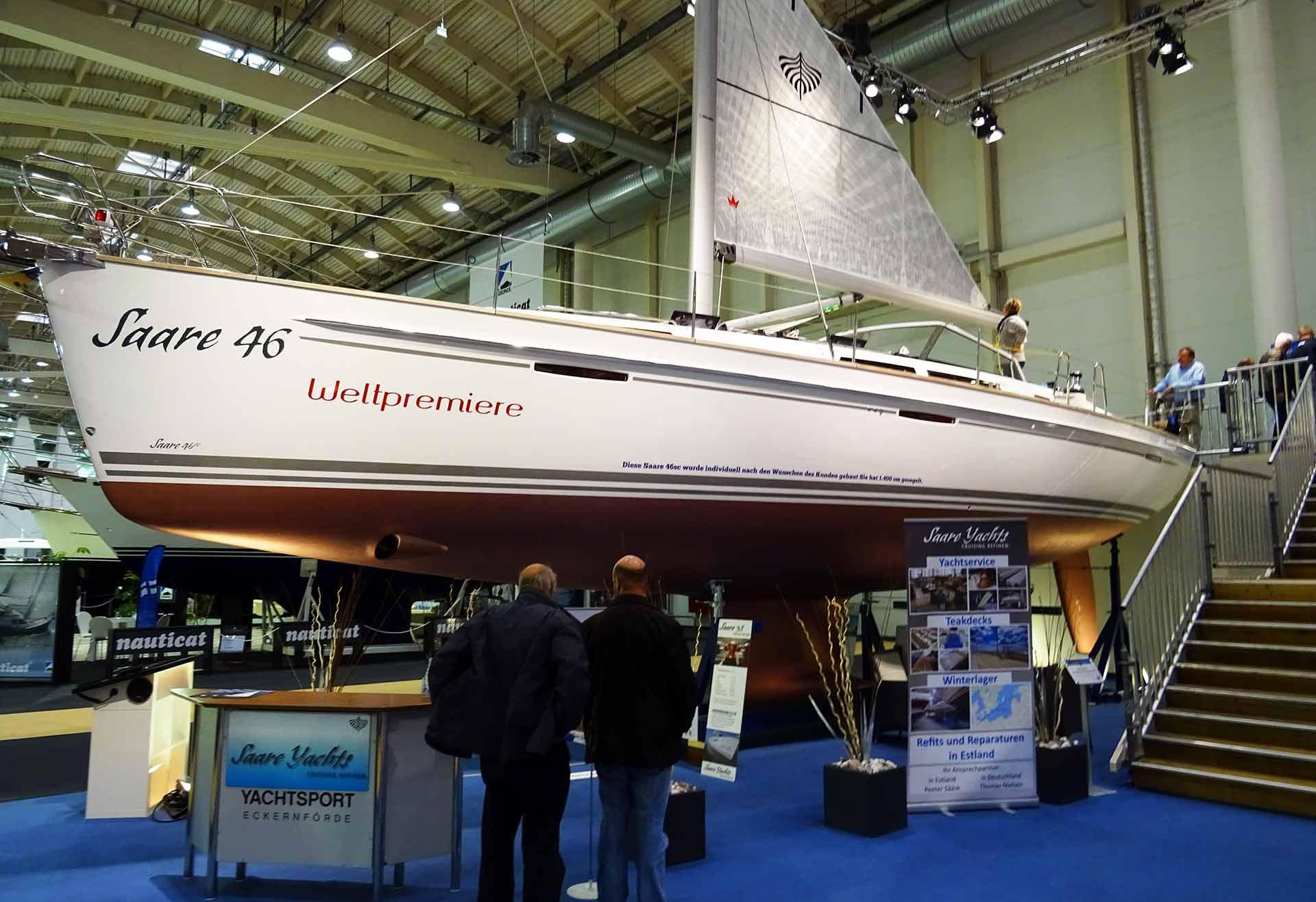 A true Blue Water Cruiser: 14 ton Saare 46