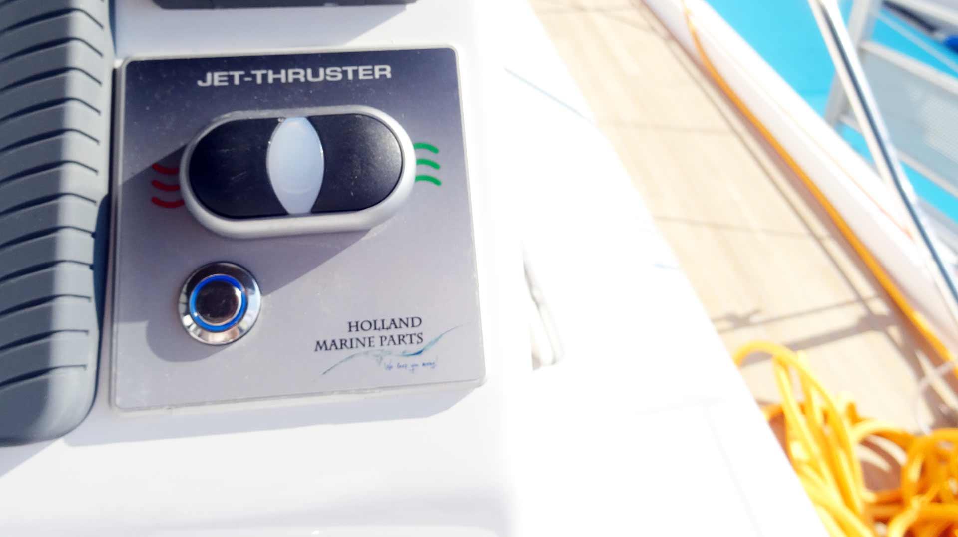 Mooring made easy: Jet Thruster