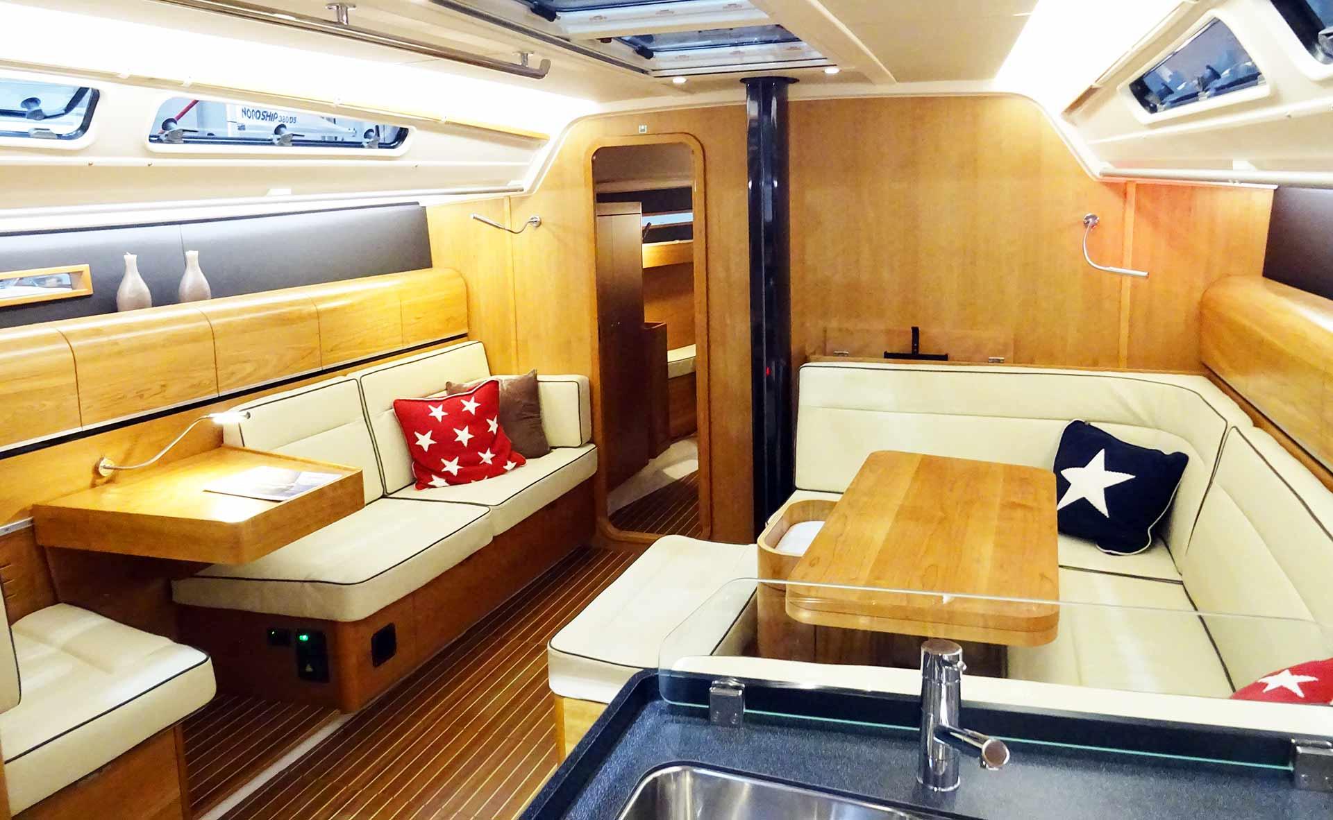 Her interior is modern, timeless: Great work, Dehler!