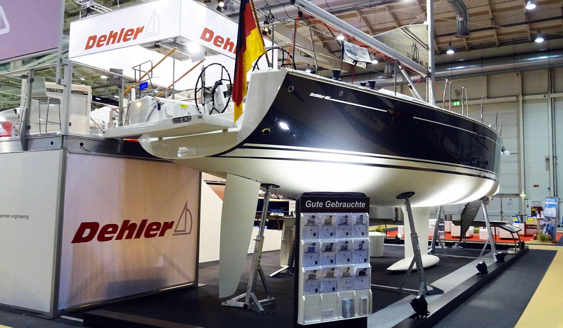 Downside: A rudder as deep as the keel?