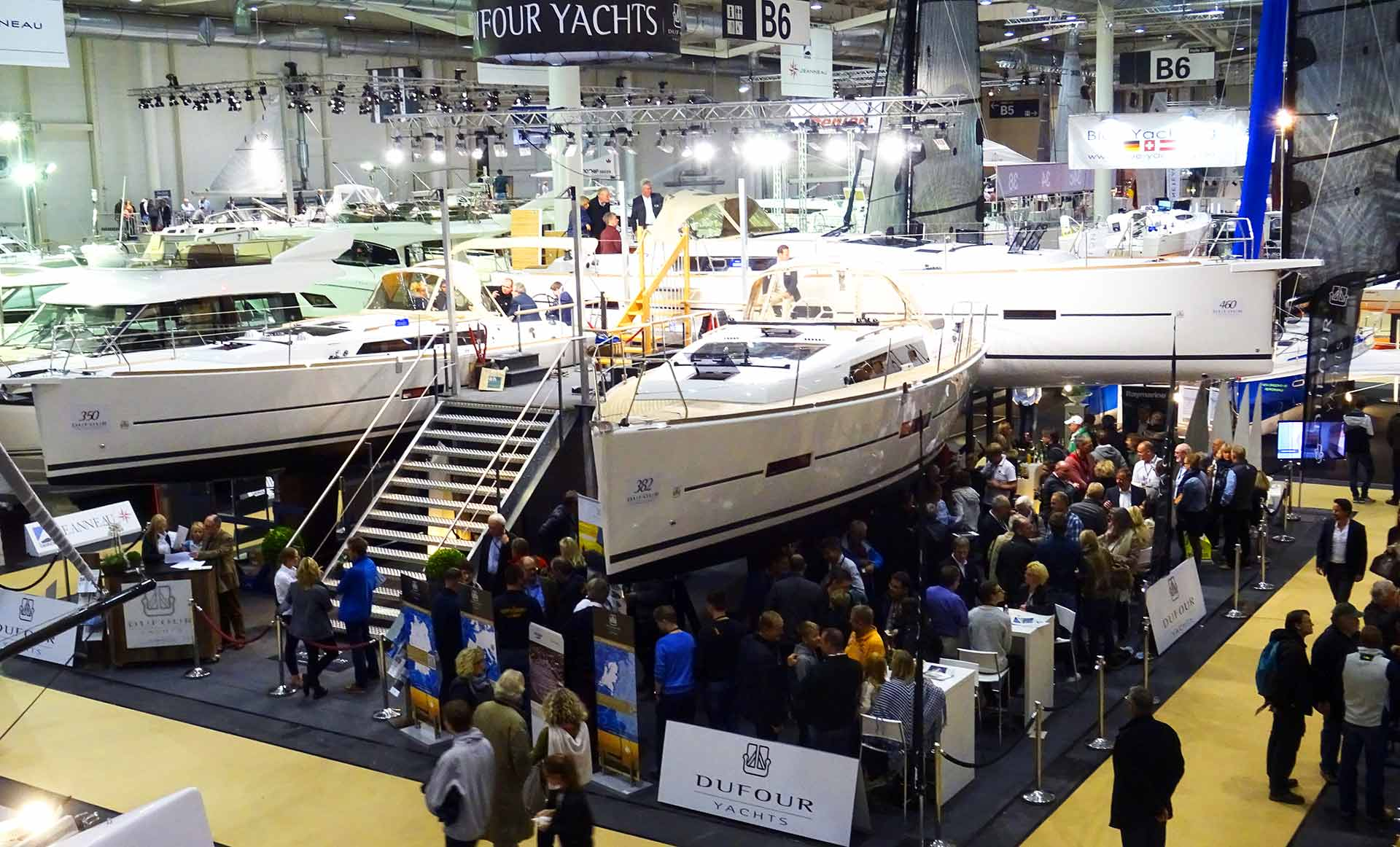 New concepts needed: Trailblazer Dufour Yachts - Party on!