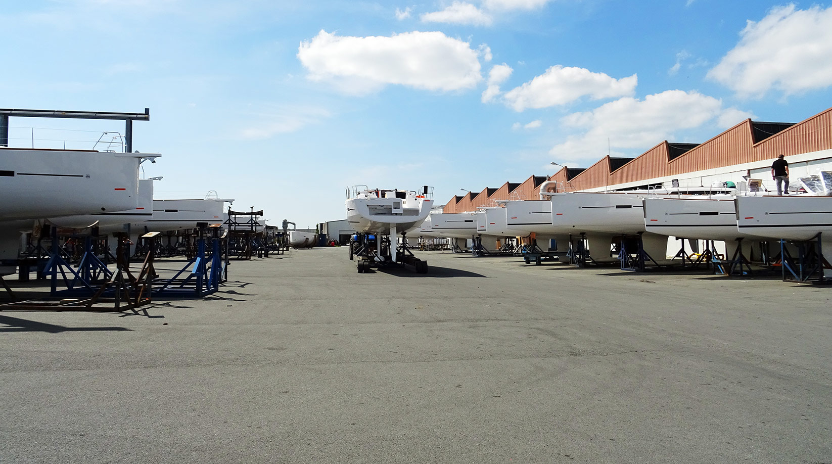Visiting Dufour Yachts In La Rochelle