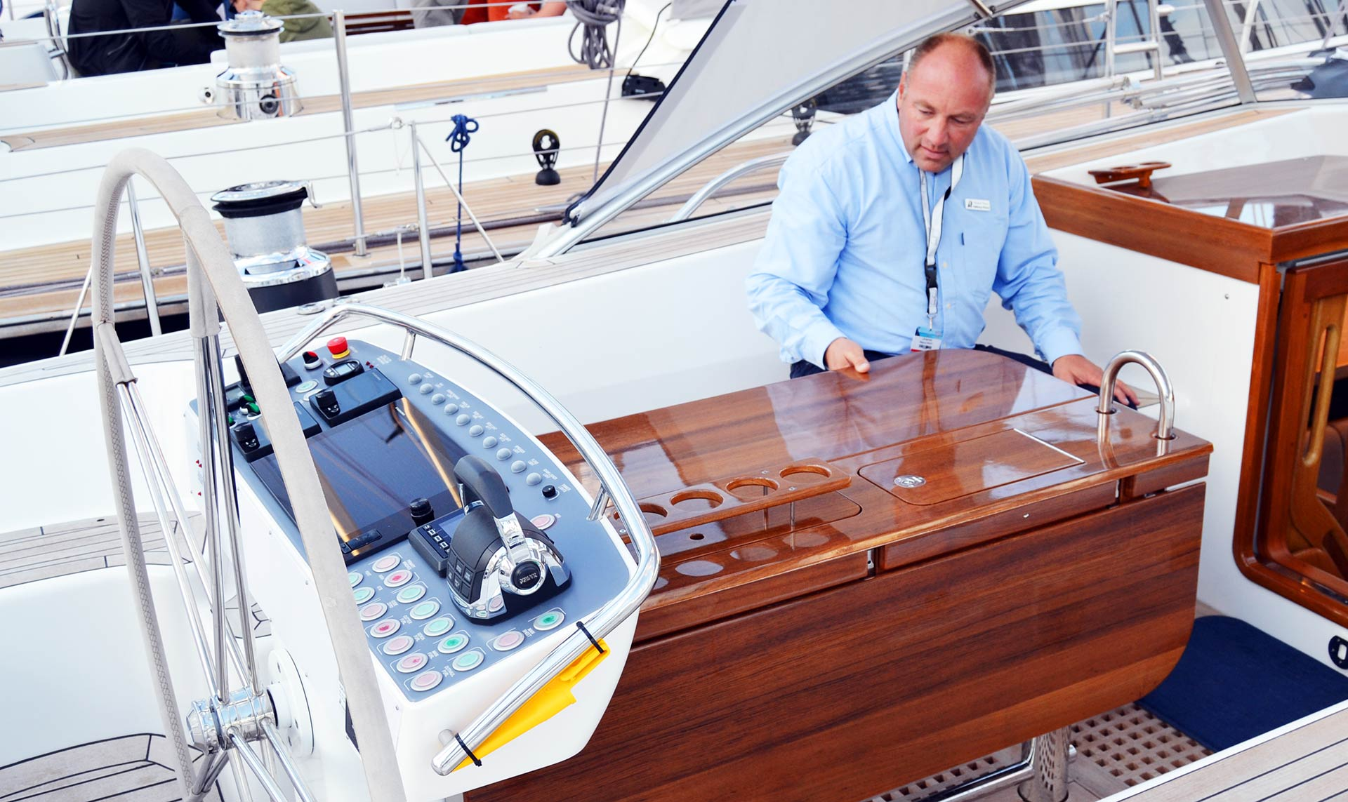 A Role Model Blue Water Yacht: Hallberg-Rassy 64