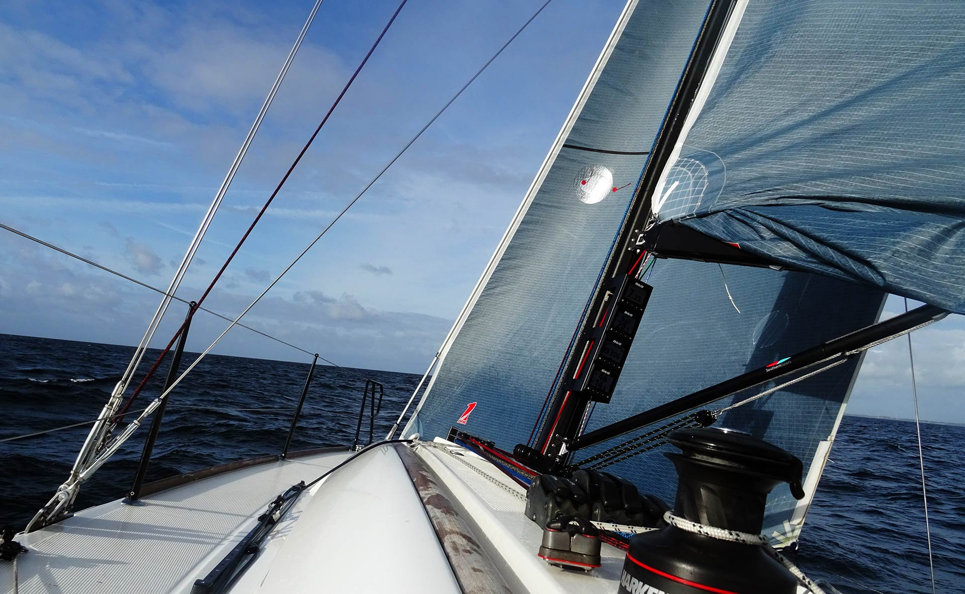 My First Foul Weather Sailing  