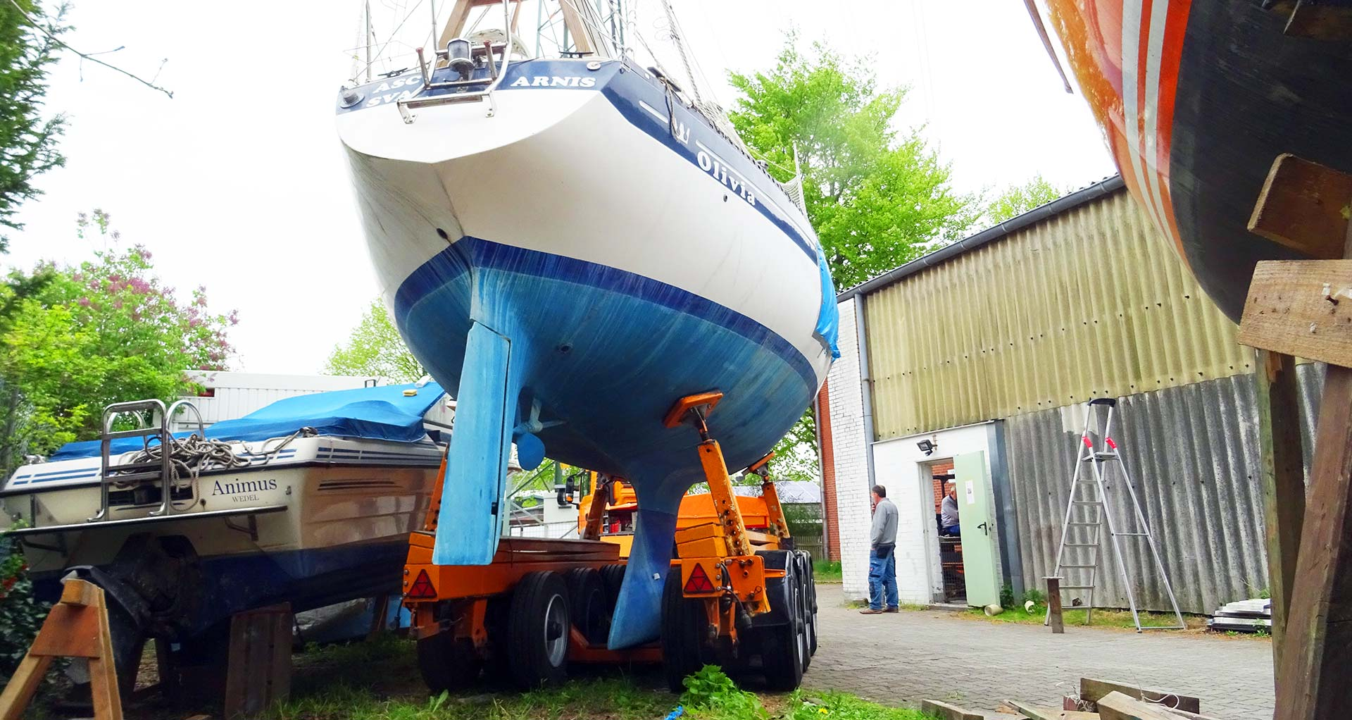Yacht Transport: New Haven for my Kings Cruiser 33 |