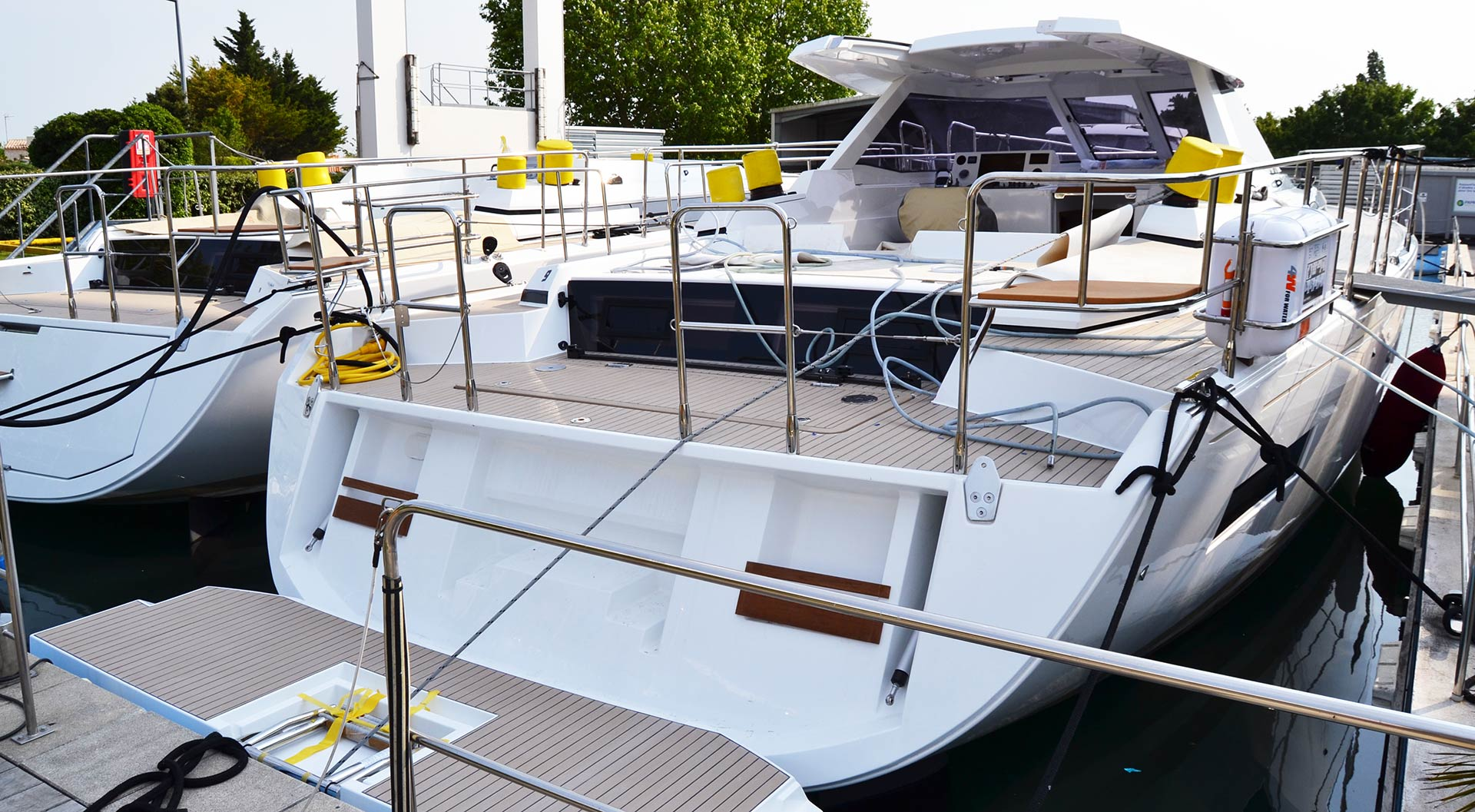 At Amel Yachts of La Rochelle |