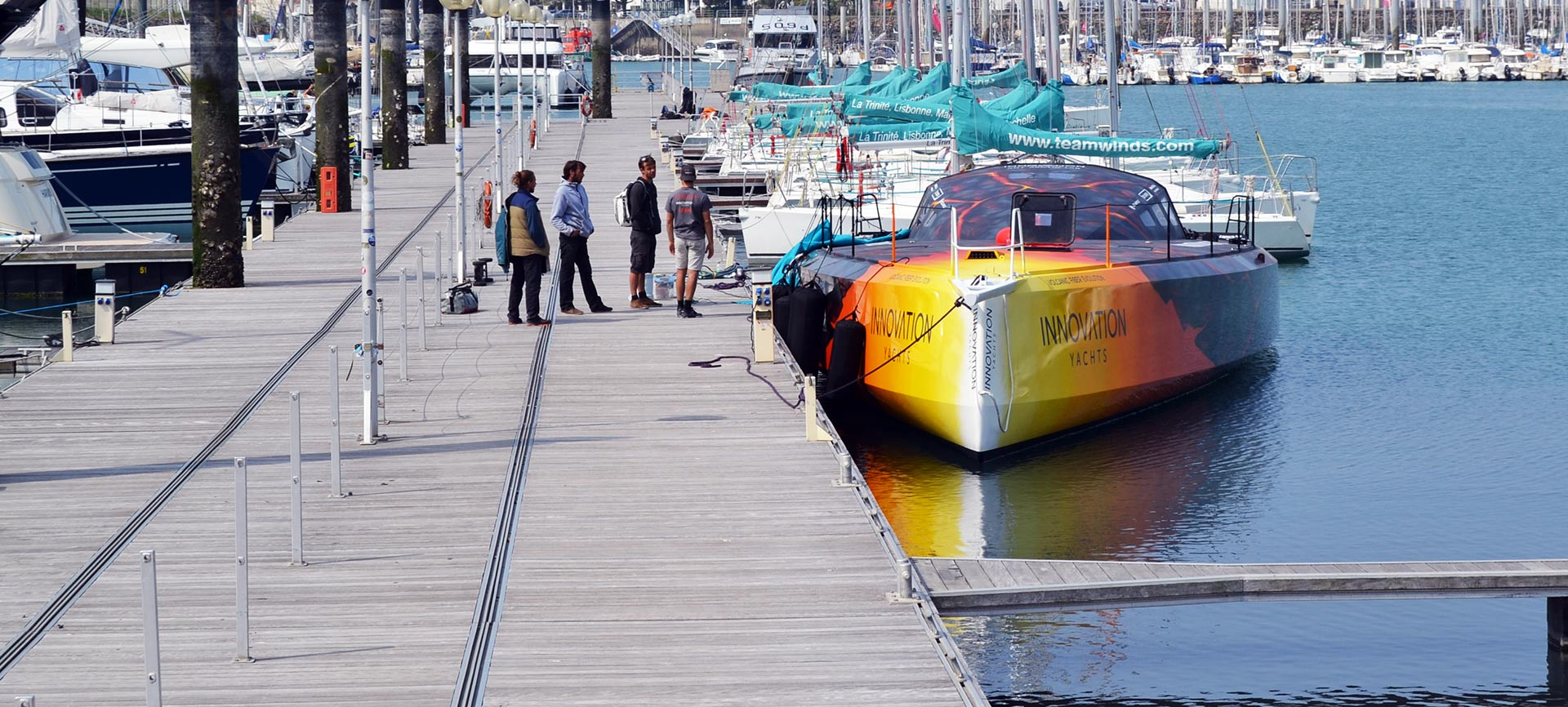 Картинки по запросу Innovation Yachts Open 60 AAL