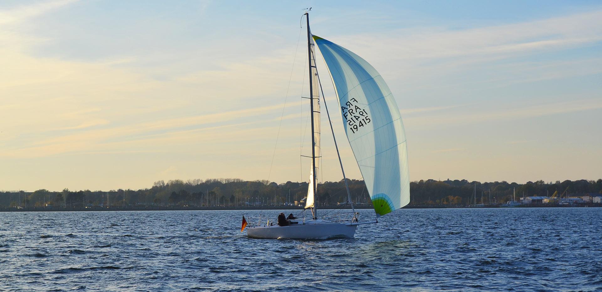 J80 Sailboat Action |